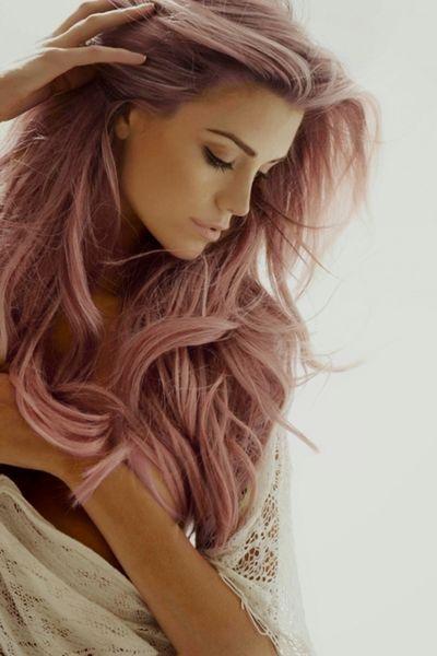 Pastel Rose Hair
