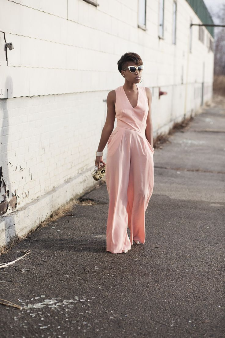 Pastel color jumpsuit