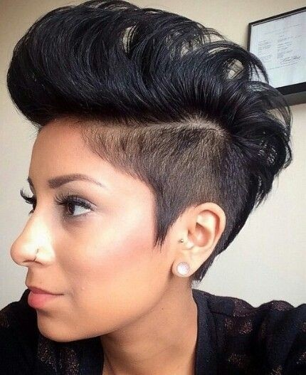 Phenomenal 24 Stunning Short Hairstyles For Black Women Styles Weekly Short Hairstyles For Black Women Fulllsitofus