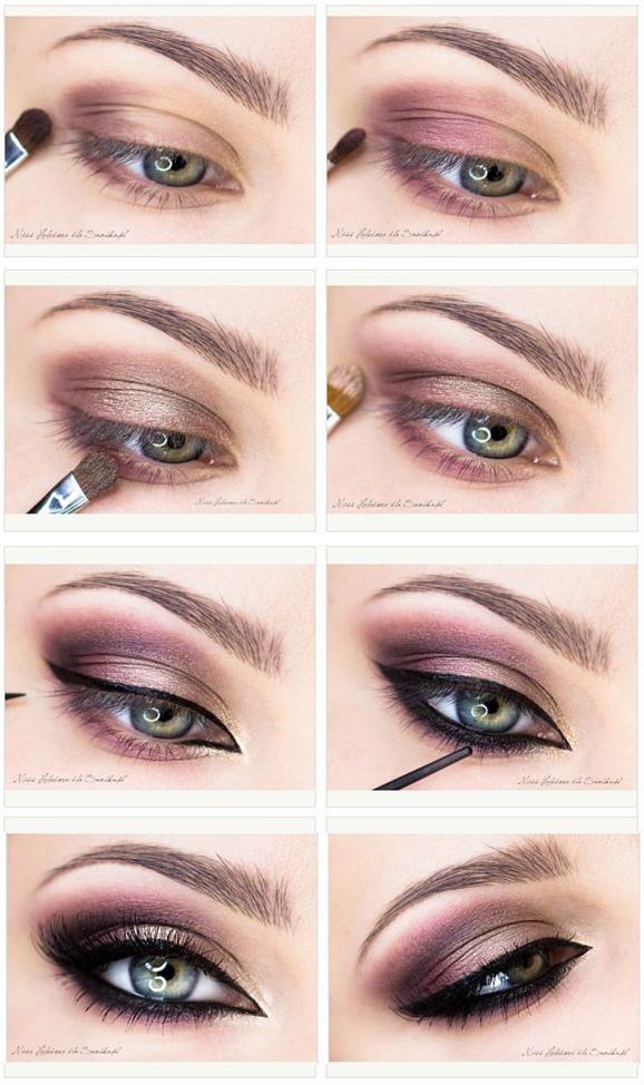 Pretty Shimmer Brown Smoky Eyes