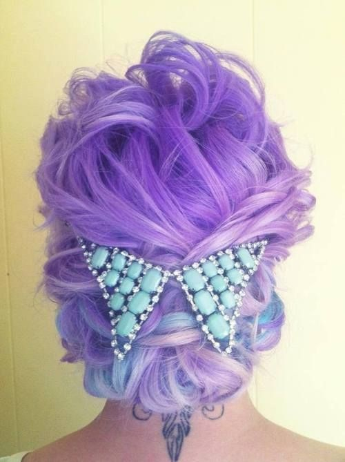 Radical hair color