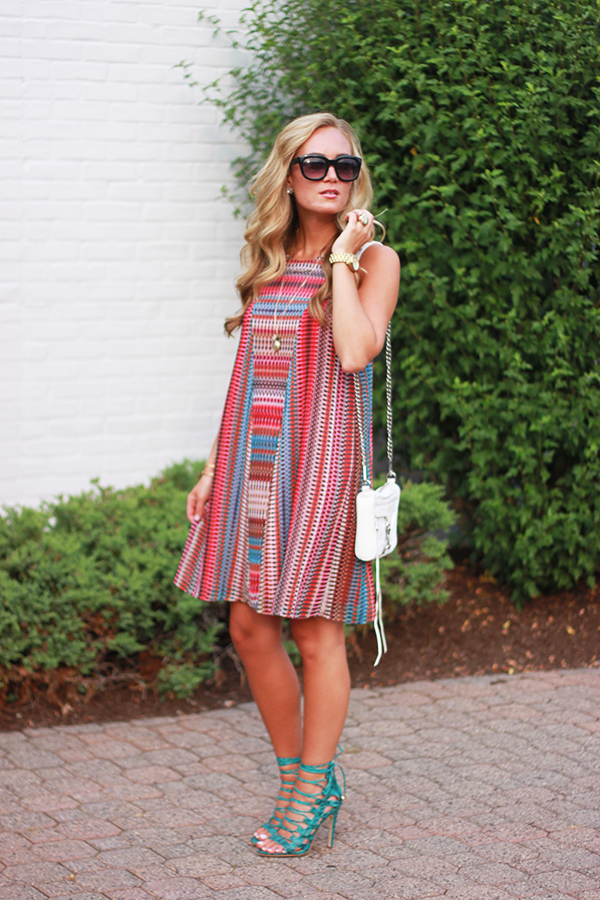 Trendy Stripped Dress for Summer