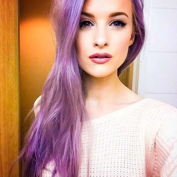 Romantic Violet Hair