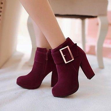 Round toe booties