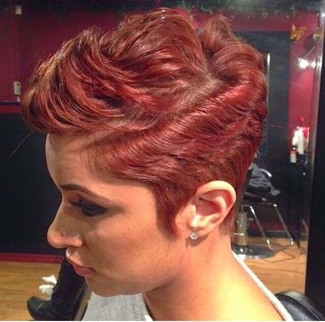 Tremendous 24 Stunning Short Hairstyles For Black Women Styles Weekly Hairstyles For Men Maxibearus