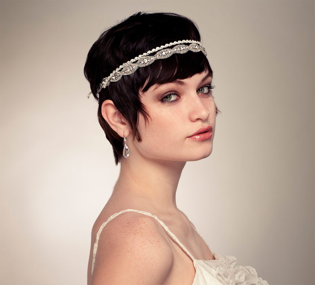 21 Show-Stopping Short Hairstyles for a Bride