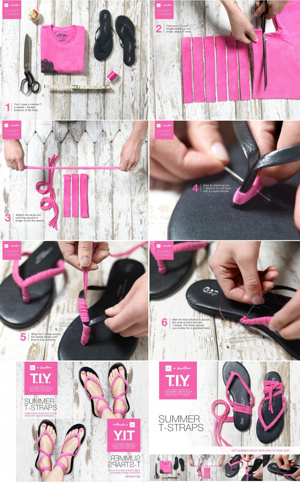 Simple Yet Chic DIY Shoes