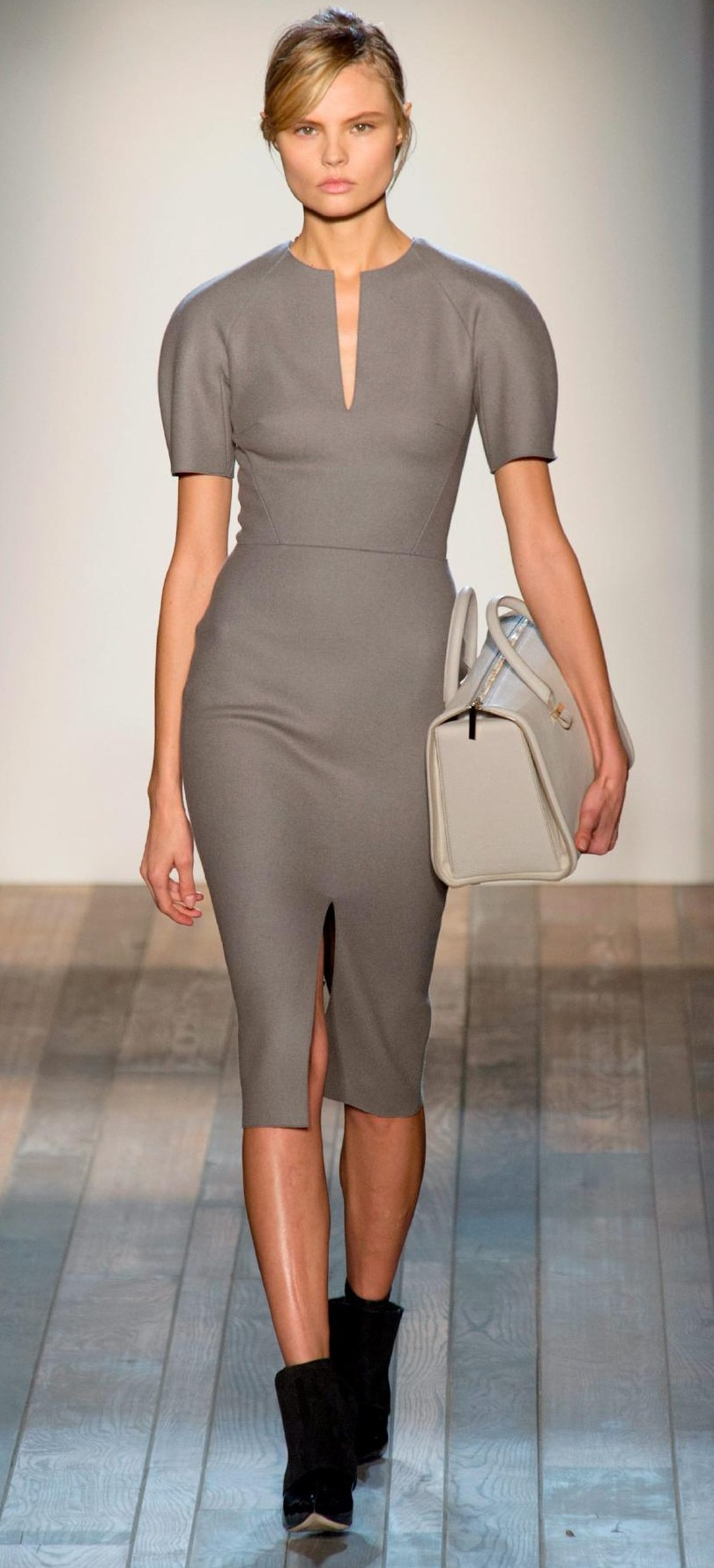 Stormy weather sleek dress