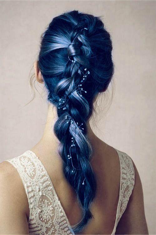 Charming Blue Hair