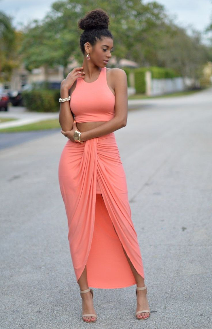 Two-piece maxi set