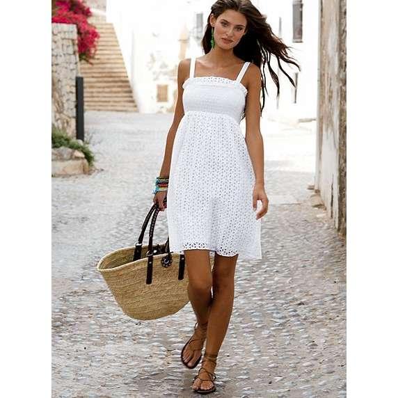 Pretty White Sundresses