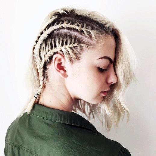 Swell 20 Beautiful Braids For Short Hair Styles Weekly Short Hairstyles Gunalazisus