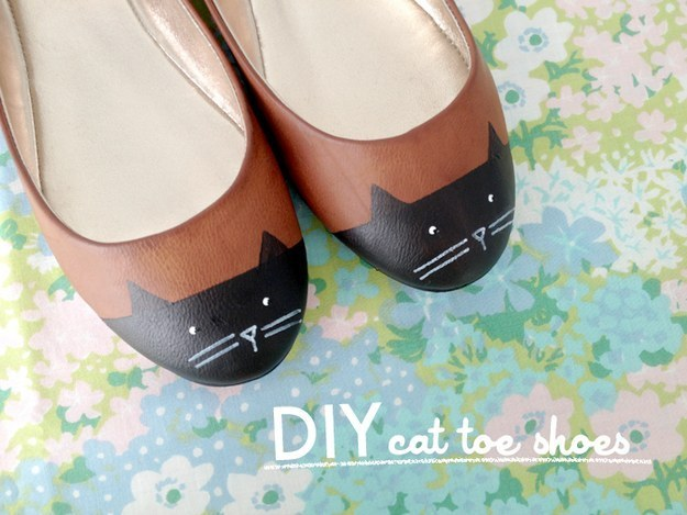 Cat Inspired Flats