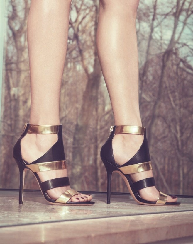 Chic Summer 2015 Outfits with Metallic Shoes