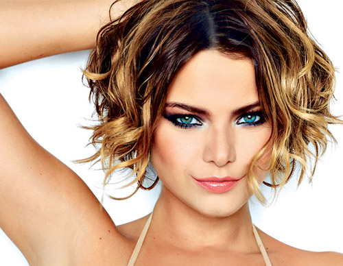 Style Wavy Hair: 20 Great Short Hairstyles For Thick Hair
