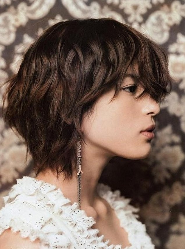 Phenomenal 20 Short Sassy Shag Hairstyles Styles Weekly Hairstyle Inspiration Daily Dogsangcom