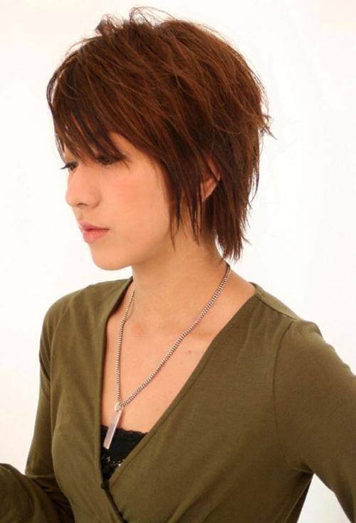 20 Short Sassy Shag Hairstyles Styles Weekly