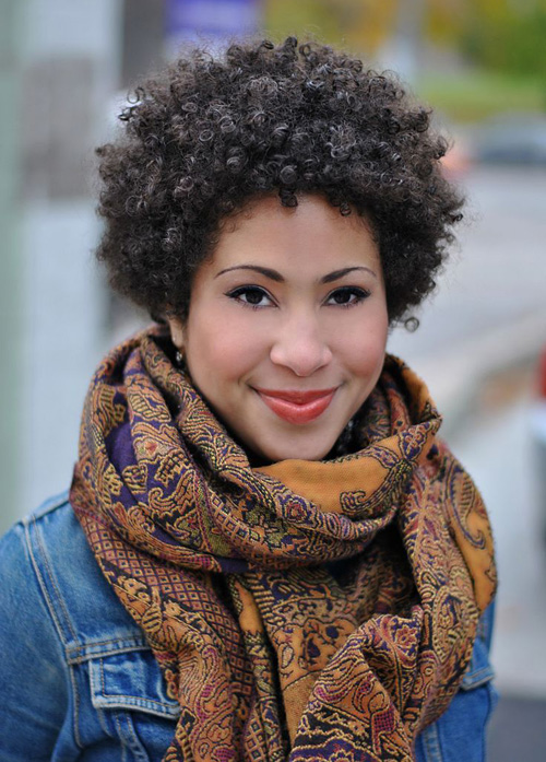 25 Cute Curly and Natural Short Hairstyles For Black Women | Styles Weekly