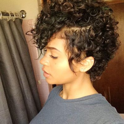 Peachy 24 Cute Curly And Natural Short Hairstyles For Black Women Hairstyle Inspiration Daily Dogsangcom