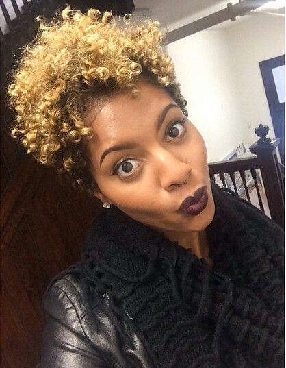 Excellent 24 Cute Curly And Natural Short Hairstyles For Black Women Hairstyles For Women Draintrainus