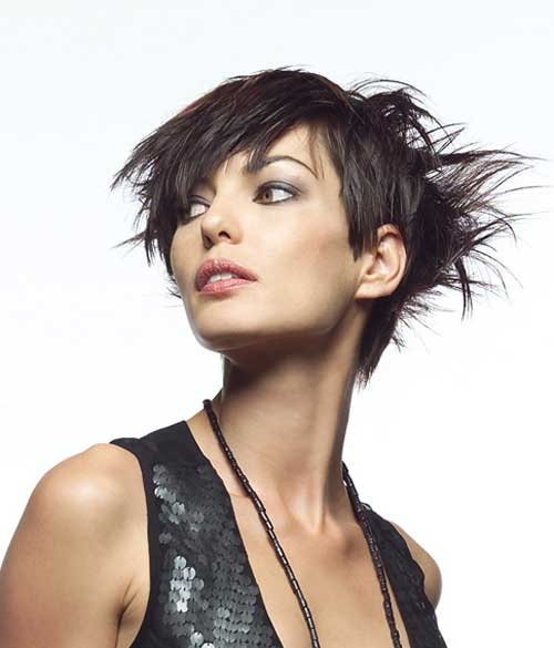 Magnificent 19 Chic Short And 39Messy39 Hairstyles Styles Weekly Short Hairstyles Gunalazisus