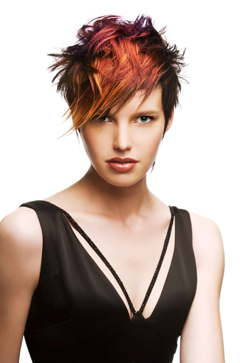 19 chic short (and 'messy') hairstyles | styles weekly