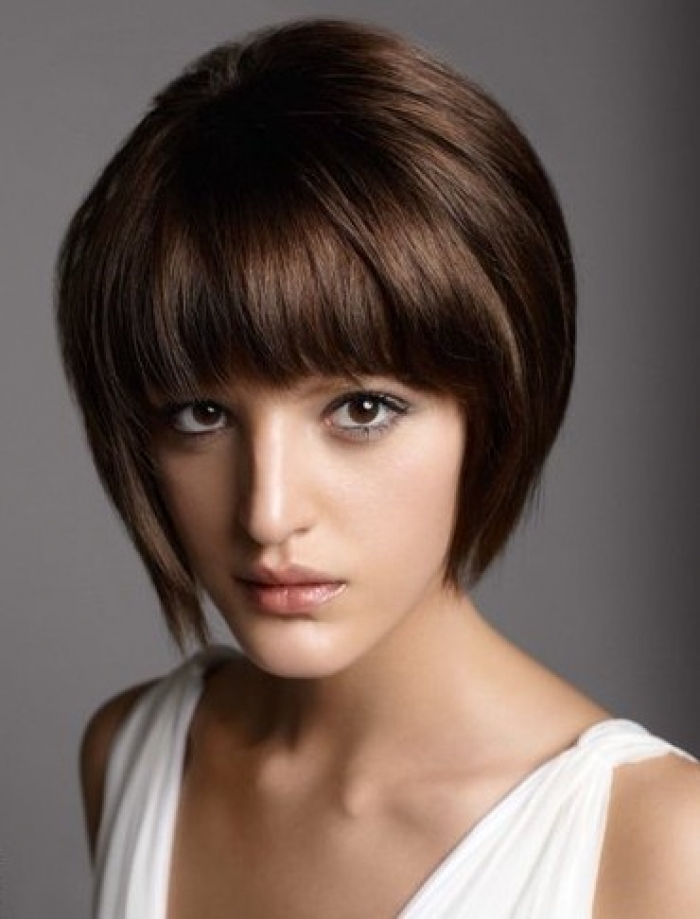 Stupendous 23 Cute Short Hairstyles With Bangs Styles Weekly Short Hairstyles Gunalazisus
