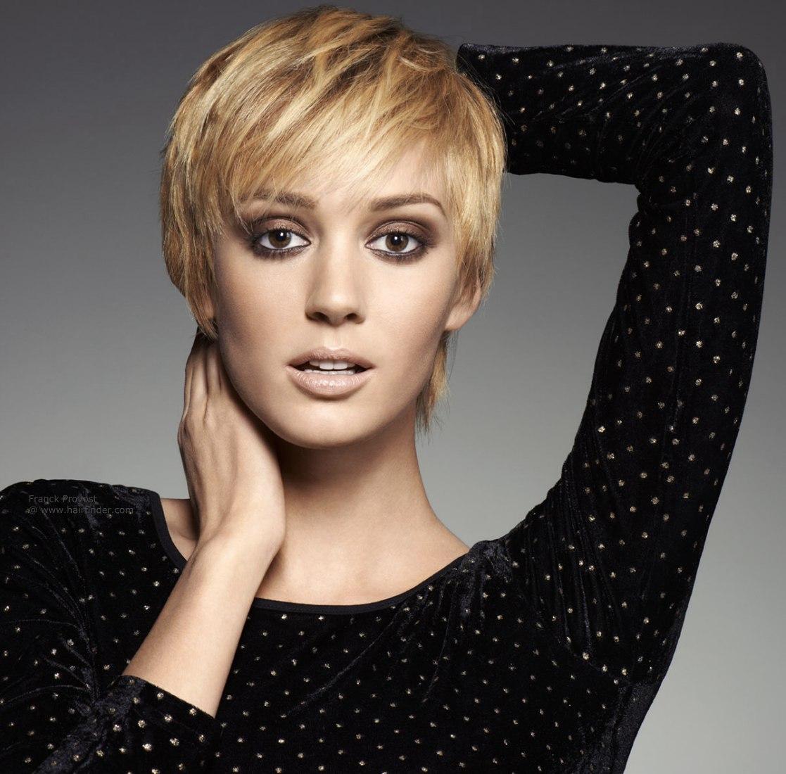 Strange Blonde Short Hair With Fringe Short Hair Fashions Short Hairstyles Gunalazisus