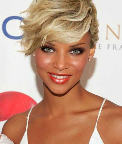 Surprising 23 Cute Short Hairstyles With Bangs Styles Weekly Hairstyles For Women Draintrainus