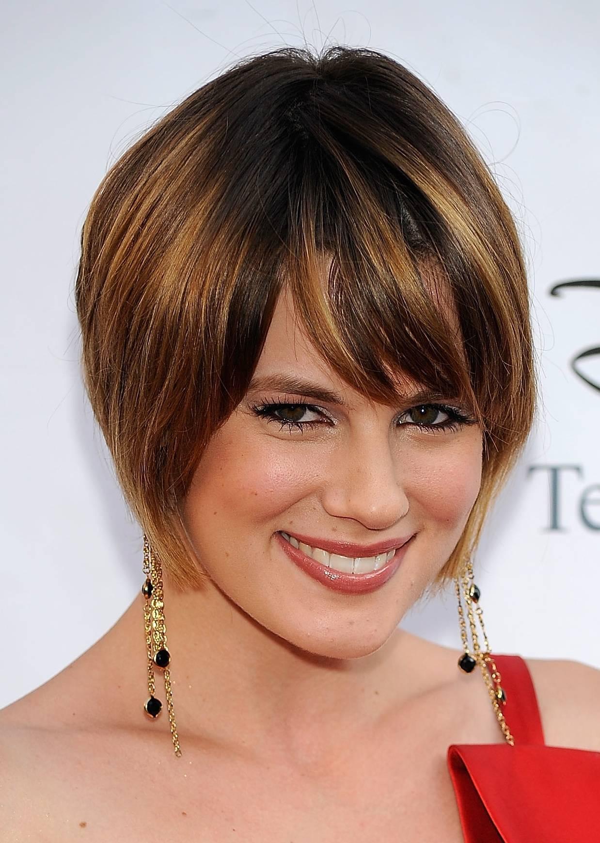 Groovy 23 Cute Short Hairstyles With Bangs Styles Weekly Short Hairstyles Gunalazisus