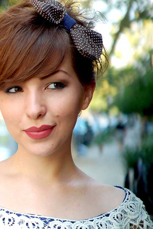 Magnificent 23 Cute Short Hairstyles With Bangs Styles Weekly Short Hairstyles Gunalazisus
