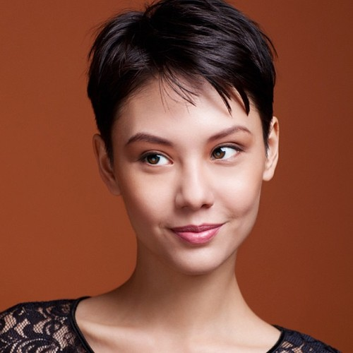 25 Cool And Easy Short Hairstyles Clic Pixie Cut Via