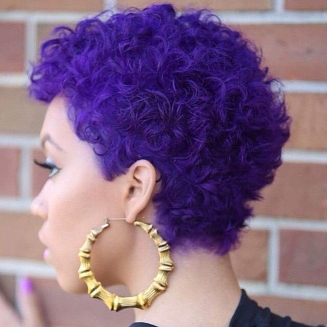 25 Cute Curly and Natural Short Hairstyles For Black Women