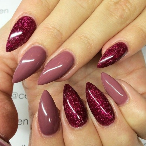 Fashionable Stiletto Nail Design - 15 Lovely And Trendy Nail Designs Styles Weekly
