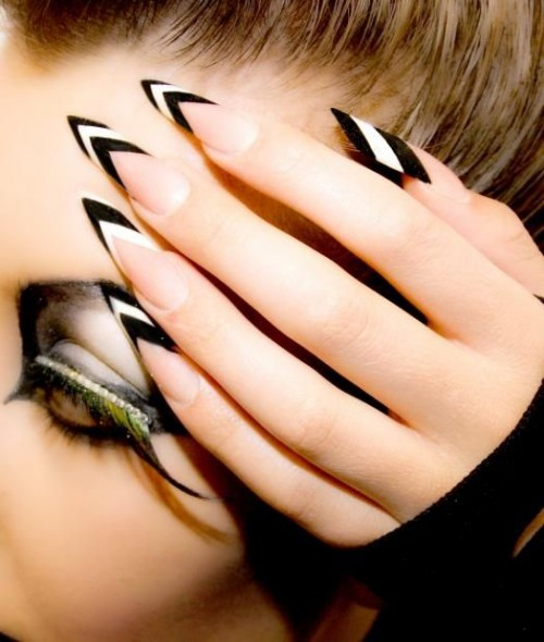 15 Fashionable French Tip Nail Designs