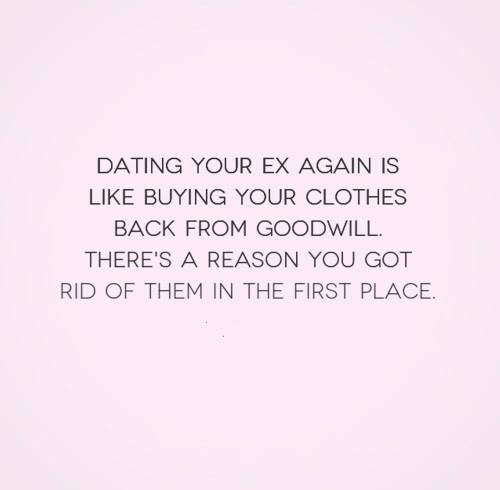 15 Reasons NOT to Get Back with Your Ex