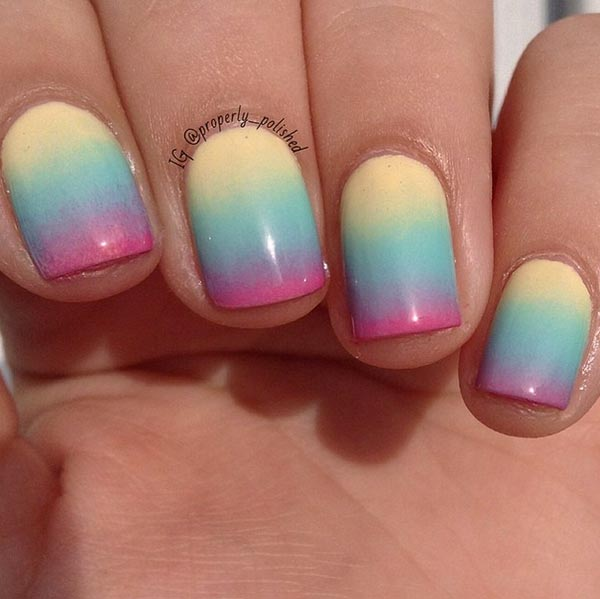 Simple Nail Designs For Short Nails: 58 Amazing Nail Designs For Short Nails (Pictures