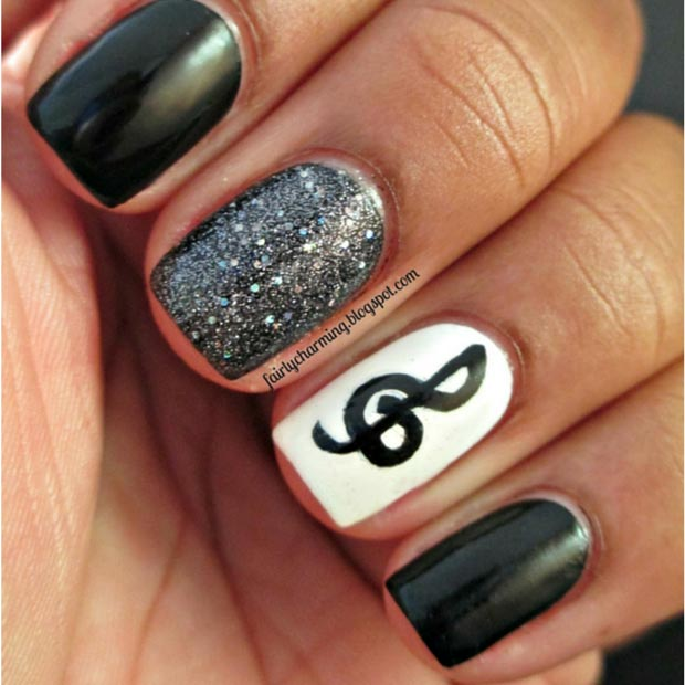 58 amazing nail designs for short nails pictures styles weekly Cool nail design ideas at home
