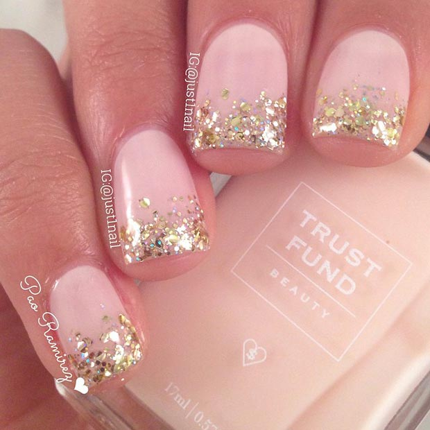 Nail Art For Short Nails Plain: 58 Amazing Nail Designs For Short Nails (Pictures