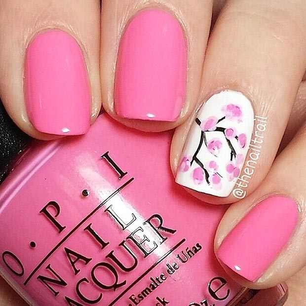 58 amazing nail designs for short nails pictures styles weekly nail designs for short nails prinsesfo Choice Image