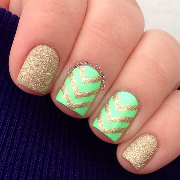 Adorable Nail Designs: 58 Amazing Nail Designs For Short Nails (Pictures