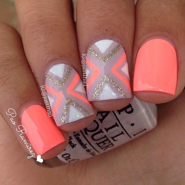 Nail Design Ideas For Short Nails 15 super easy nail design ideas for short nails Nail Designs For Short Nails