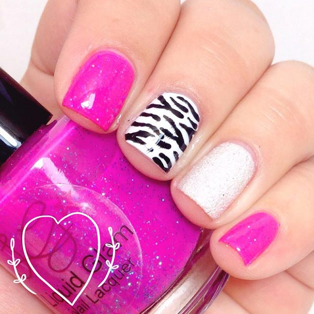 58 amazing nail designs for short nails pictures styles weekly nail designs for short nails prinsesfo Gallery