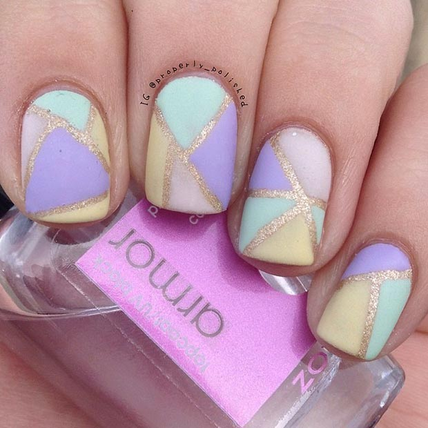 Nail Designs for Short Nails - 58 Amazing Nail Designs For Short Nails (Pictures) Styles Weekly