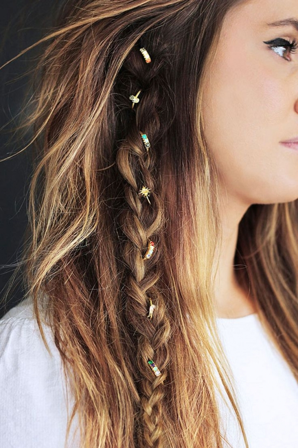 Lovely Boho Chic Hairstyle