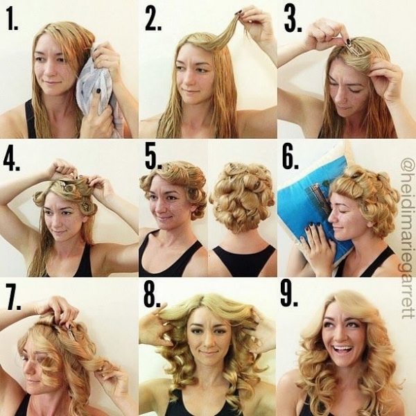 Fine A Great Collection Of 35 Heatless Hairstyle Tutorials Styles Weekly Hairstyles For Women Draintrainus