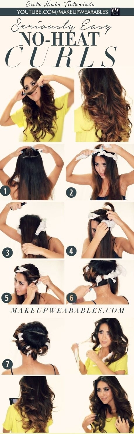 Superb A Great Collection Of 35 Heatless Hairstyle Tutorials Styles Weekly Hairstyles For Women Draintrainus