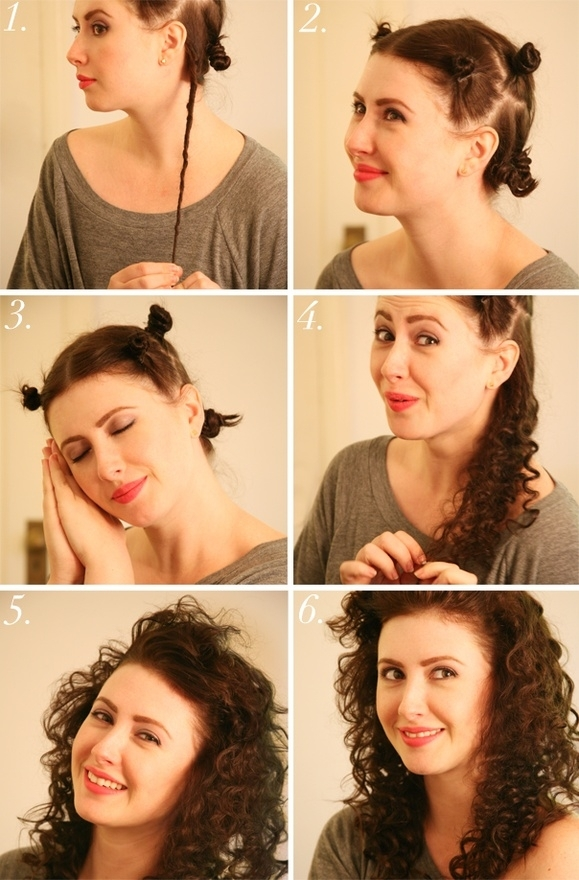 Astounding A Great Collection Of 35 Heatless Hairstyle Tutorials Styles Weekly Hairstyles For Women Draintrainus