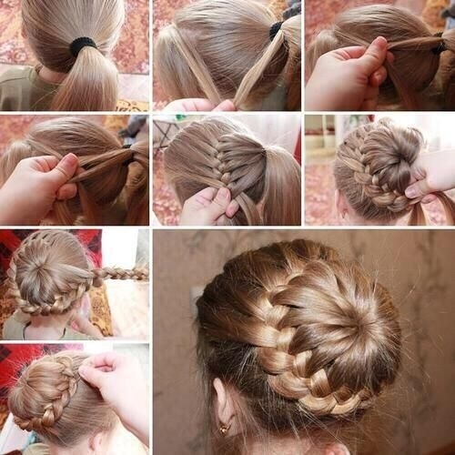 Fine A Collection Of 23 Super Chic Bun Hairstyle Tutorials Styles Weekly Hairstyle Inspiration Daily Dogsangcom