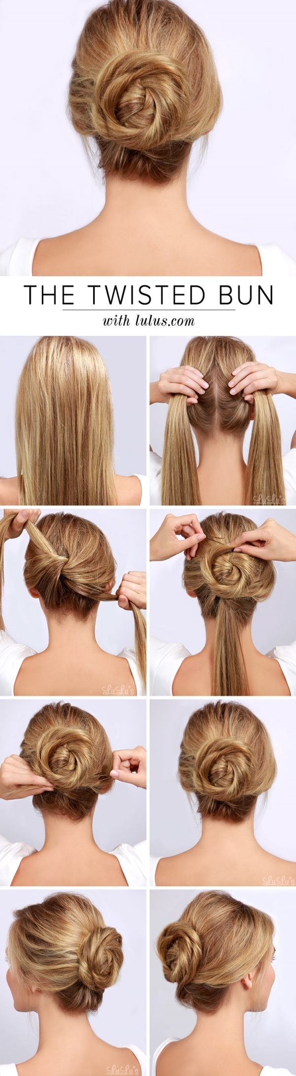 Watch How to Make a Chic Chignon in 6 Easy Steps video